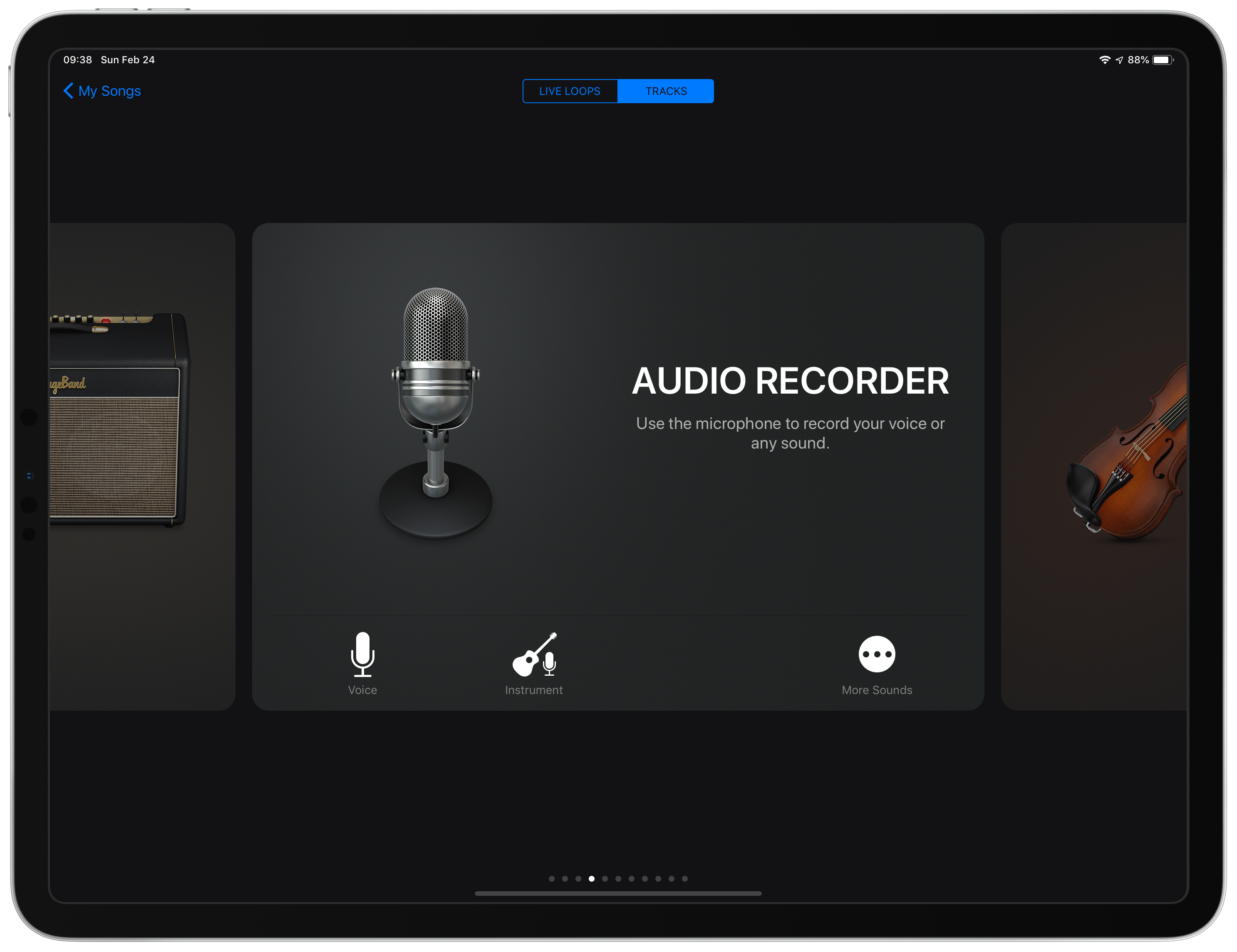 GarageBand Instrument - Audio Recorder
